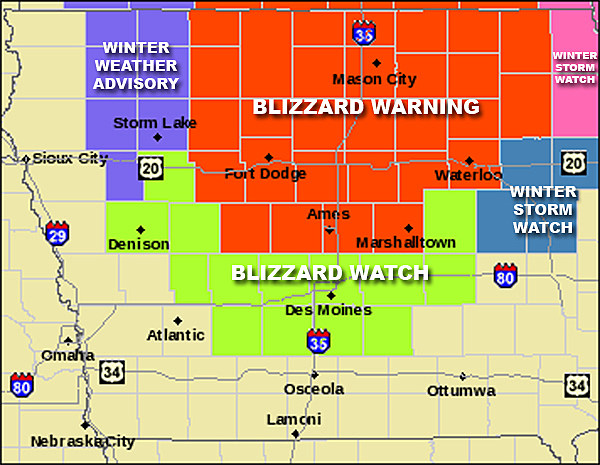 Blizzard Warning (FEB 20-21, 2014)