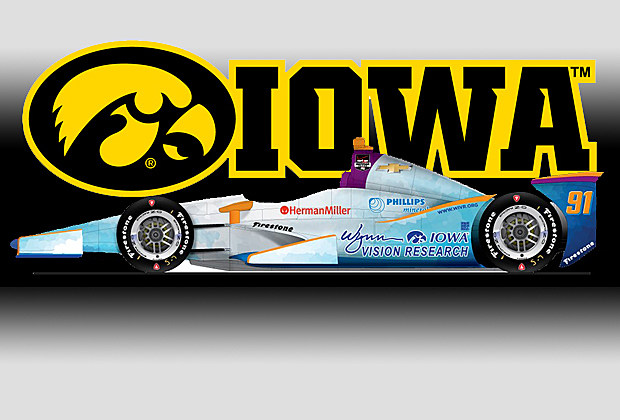 University of Iowa at the Indy 500