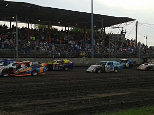 Dirt Track Racer Power Ranks