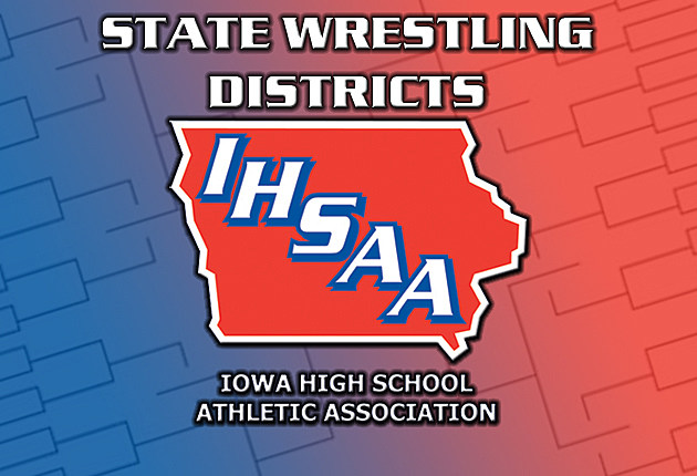2015 Iowa High School Wrestling State Tournament - District Tournament