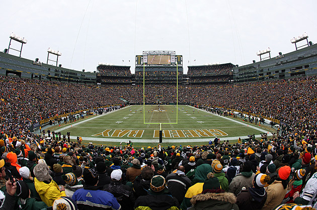 Lambeau Field (Getty Images Sports)