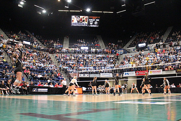 Iowa High School Volleyball State Tournament (Photo: Bucky Doren)