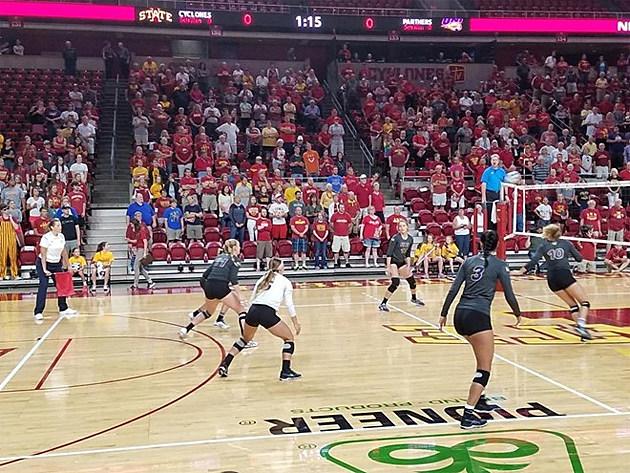 UNI versus Iowa State (Photo: UNI Athletic Communications)